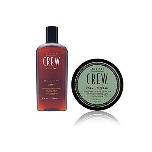 American Crew 3 in 1 shampoo & forming cream