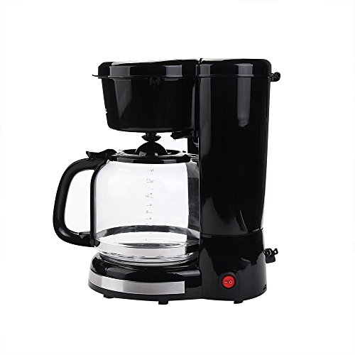 Buy 12 Cup Thermal Coffee maker,Automatic Coffee Machine with Glass Carafe,Black