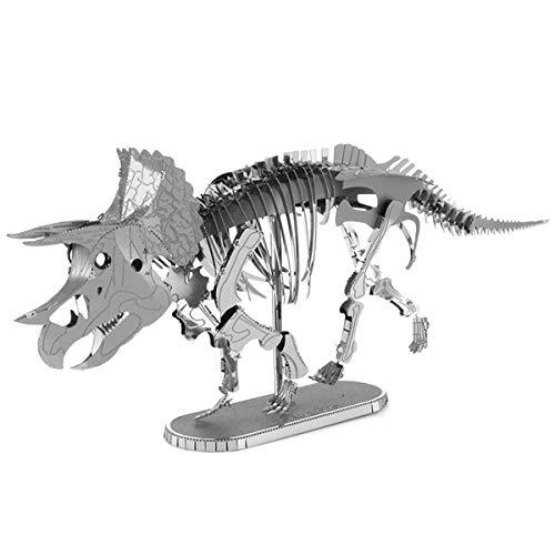 Metal Earth - 5061101 - Maquette 3D - Dinosaures - Triceratops Squelette - 2 pièces