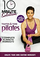 10 Minute Solution: Tighten & Tone Pilates W/Band [DVD] [Import]