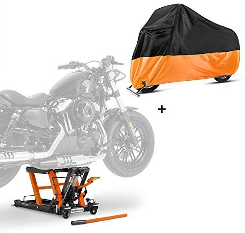 Hebebühne LO + Abdeckplane XXXL für Harley Davidson Street Glide/Special
