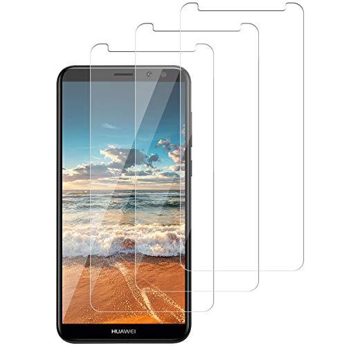 SNUNGPHIR Vetro Temperato Pellicola Protettiva per Huawei Mate 10 Lite Protezione Schermo Huawei Mate 10 Lite Screen Protector Anti graffio Anti Bolle Anti-Impronta Trasparente HD Durezza 9H [3 Pezzi]