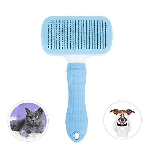 weback flea Comb for Cats Dogs Pets - Best Grooming Tools Set Effective Float Hair Remover - Pet Tear Stain Remover Combs - Nit - Comb for Removal Dandruff - Pet Grooming Brush