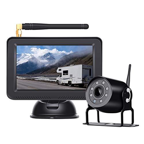 BaiTTang Sistema de Asistencia de estacionamiento inalámbrico Digital, Grabador DVR...
