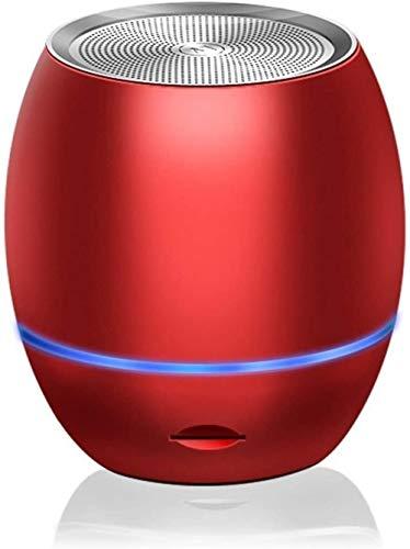 Mini altavoz portátil al aire libre, inalámbrico Bluetooth inteligente Ai super canal de audio-Rojo