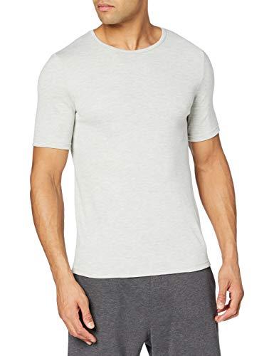 Damart Tshirt Col Rond Maille Interlock Thermolactyl Degré 3 Camiseta térmica, Gris (Gris Chine), L para Hombre