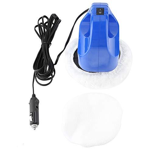 Kimiss Elektrische polijstmachine, 12 V, geluidsarm, voor het polijsten en waxen, 40 W, elektrische polijstmachine