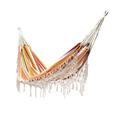 N/Z Double Camping Hammock Lightweight, Portable And Foldable Travel Swing Hang Bed, Large Hammocks Outdoor Lace Hammock Chair For Travel Camping Beach Indoor Outdoor(200x150cm)