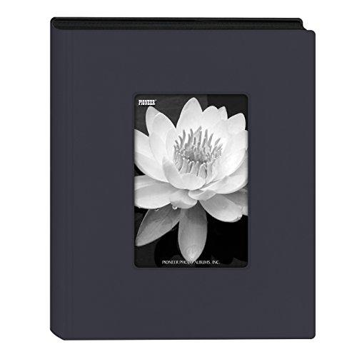 Pioneer Photo Albums KZ-46/NB Mini álbum de fotos com capa de moldura, azul marinho, 10 x 15 cm
