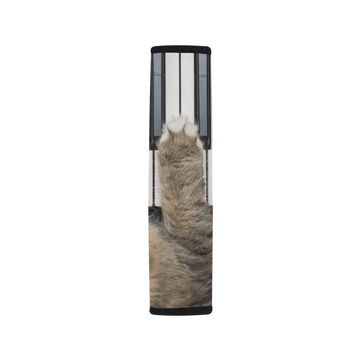 2pcs At the price of surprise Car Sale special price Seat Belt Cover Siberian Midi Cat Playing Forest Contro