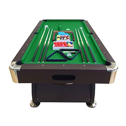 Mesa de billar 8 pies verde snooker completo de accesorios - Viper Green