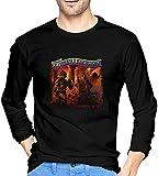 Photo de Molly Hatchet T Shirt Men Long Sleeve T-Shirts Pullover Crew Neck Tee Shirt,S