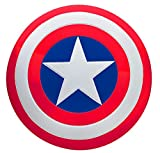 """SUIT YOURSELF Captain America Shield for Adults, Marvel Comics, 24"""" Diameter, Plastic with Adjustable Hand Grips"""