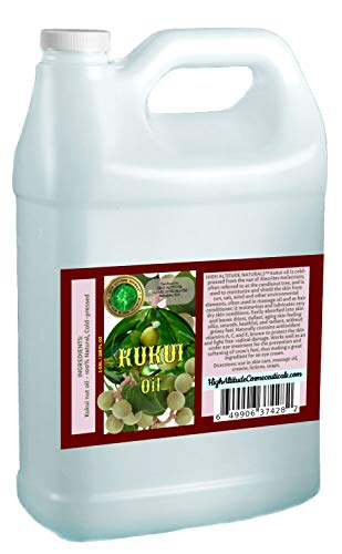 Find Discount Kukui Nut Oil - 128 oz (1 gallon)- 100% Natural, Cold-pressed