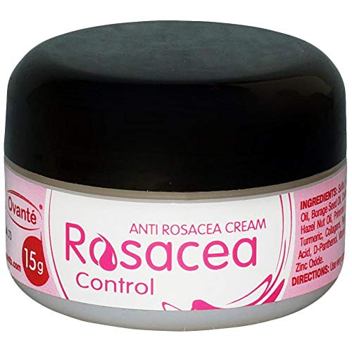 Ovante Rosacea Control - Skin Care Cream Relief Face Irritation, Red Acne Bumps, Reduce Hydrates Soothes and Calms Dry Rosacea Prone Skin