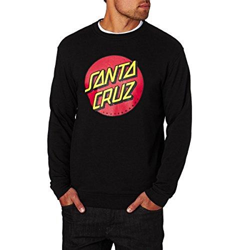 Santa Cruz Sweatshirts - Santa Cruz Classic Dot Sweatshirt - Black