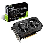 ASUS Phoenix NVIDIA GeForce GTX 1650 OC Edition Gaming Graphics Card (PCIe 3.0, 4GB GDDR6 Memory, HDMI, DisplayPort, DVI-D, 1x 6-pin Power Connector, Axial-tech Fan Design, Dual Ball Fan Bearings)