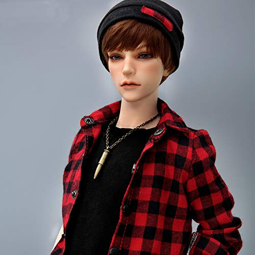 MEESock 61cm BJD Dolls 1/3 Ball Jointed Dolls Handsome Boy SD Doll Kit with Full Set Clothes Shoes Wig Makeup Best Children's Day