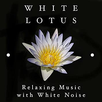 White Lotus - Relaxing Music with White Noise
