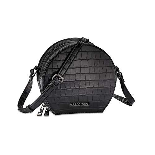 MARCO TOZZI Damen Handtasche 2-2-61025-25, Black Croco, 1 EU