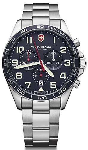 VICTORINOX SWISS ARMY Reloj Analógico para Hombre de Automático con Correa en Acero Inoxidable V241857