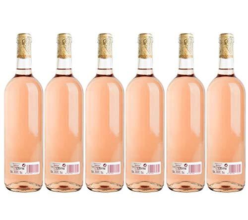 Vino Clarete de mesa cosechero'Los Corzos' Caja de Botellas 6 x 750 ml - Total: 4500 ml
