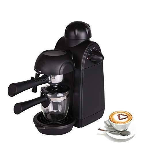 XIMULIZI Edelstahl-Kaffeemaschine Espressomaschine für Milchblase Espressomaschine 5Bars Pumpendruck,EU