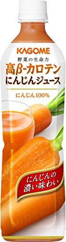 Kagome high ƒÀ- carotene carrot juice smart PET 720mlX15 this