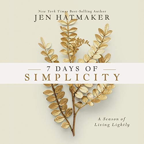 7 Days of Simplicity cover art