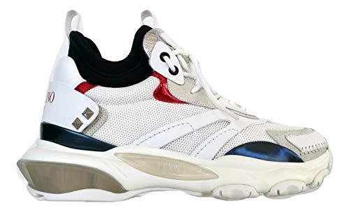 Valentino Garavani Sneakers Scarpe Uomo Bounce con calzino RY2S0B39APN DX9 (40)