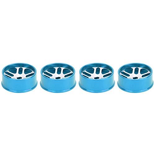 SALUTUYA Eje de la aleación de Aluminio RC Eje de la aleación de Aluminio RC Durable, para el Modelo del Coche(Blue)