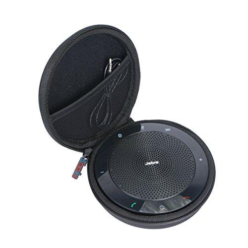 Khanka Tasche Case Für Jabra Speak 510/510+ Plus MS Bluetooth Freisprecheinrichtung Mobile Konferenzlösung Etui Schutzhülle.(Für Jabra Speak 510)