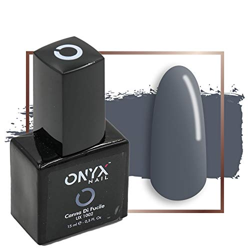 Onyxnail - smalto semipermanente gel canna di fucile 4 in 1 linea unix - 15 ml - ux1002