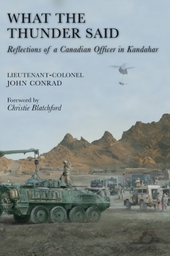 What the Thunder Said: Reflections of Canadian Army Officer in Kandahar Image