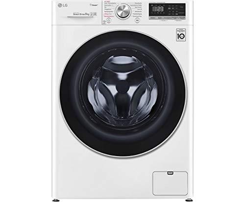 LG F4WV409S1 Waschmaschine - Weiß, 9 kg, 1400 U/Min