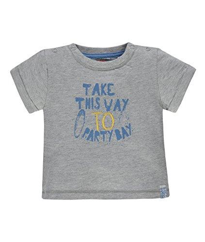 Kanz T-Shirt 1/4 Arm 1832571, Grau (Micro Chip Melange 8095), 56 Bambino