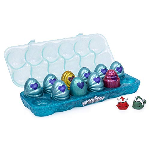 Hatchimals Colleggtibles, Mermal Magic 12 Pack Egg Carton with Season 5 for Kids Aged 5 & Up (Styles May Vary)