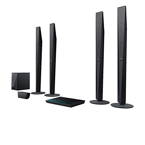 Sony BDV-E6100 - Equipo de Home Cinema de 1000W (Full HD 3D, altavoces satélite de 5.1 canales, conexión NFC + Bluetooth + WiFi), Negro