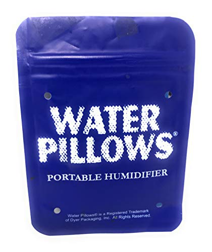 Water Pillows - Portable Humidifier for Cigars - 10 Packs - New and Improved Design