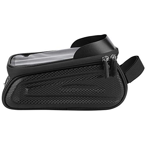 Bicycle Bag, Hard Shell Large Capacity Bicycle Phone Holder Bag Bike Phone Stand Bag, Easy To Use Cycling Equipment for Bicycle Mountain Bike