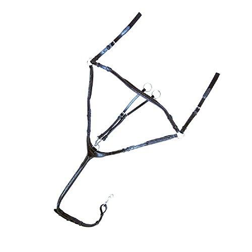 Kavalkade Vorderzeug Diandro 3-Punkt, braun, Pony