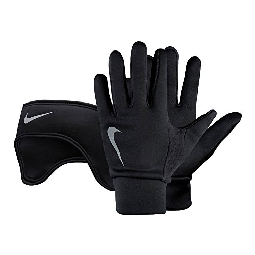 Nike Thermal Stirnband and Glove Set – fa15 Negro Large