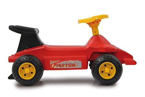 JAMARA 460274 - Rutscher Formula Kid - Stabil und Robust, Haltegriffe im Heckflügel, Kippschutz, ansprechendes Design in Rot oder Hellblau, Hupe, rot