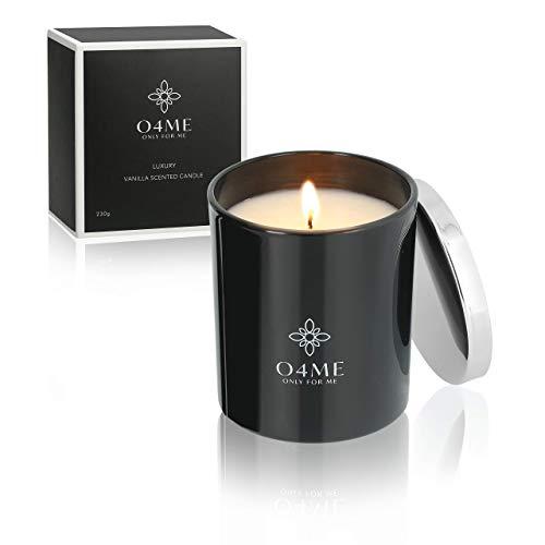 O4ME Duftkerze Vanille im Glas