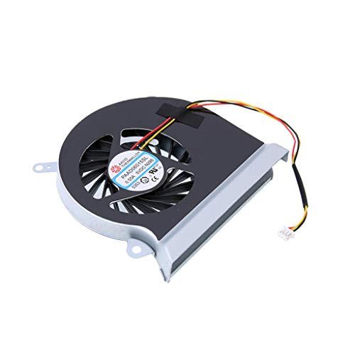 perfk Ventilador de Refrigeración de CPU para MSI Gaming GE60 Serie