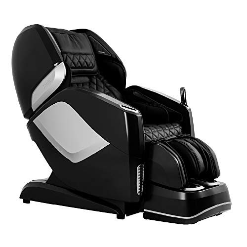 Osaki OS-Pro Maestro 4D Zero Gravity Massage Chair with Heated Rollers, L-Track Design, Touch Screen Remote (Black)
