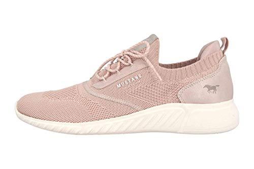 MUSTANG Shoes Halbschuhe in Übergrößen Rose 1315-306-555 große Damenschuhe, Größe:43