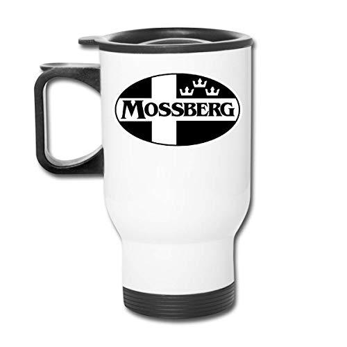 DJNGN Mossberg 500 escopetas tácticas rifles 590 930SPX Accesorios de caza Vaso de acero inoxidable de 16 onzas Taza de café al vacío de doble pared con tapa a prueba de salpicaduras para bebi