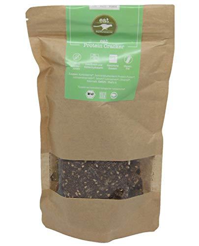 eat Performance® Protein Cracker (100g) - Bio, Paleo, Glutenfrei, Laktosefrei, Ohne Milch, Aus 100% Natürlichen Zutaten