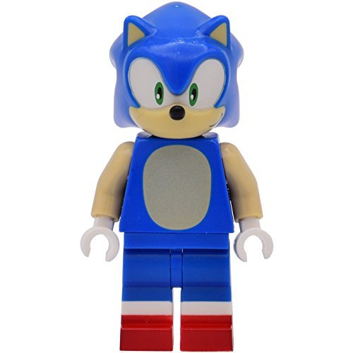 LEGO Sega Dimensions Minifigure - Sonic the Hedgehog with Ring (71244)